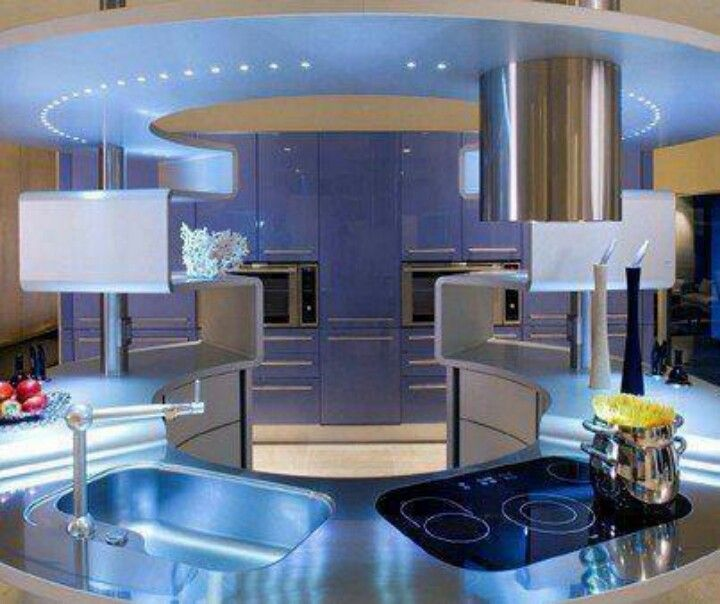 111 Best Images About Futuristic Kitchen On Pinterest