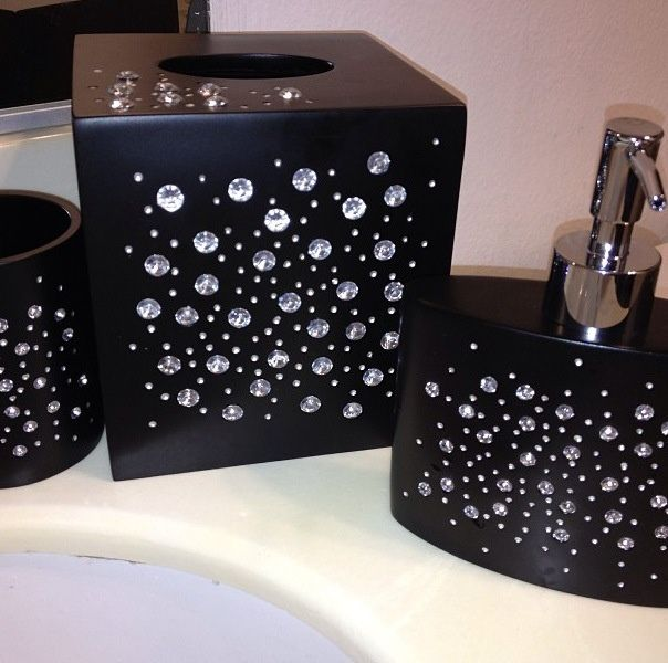 rhinestone bathroom accessories. 9 best Toilet seats images on Pinterest  Appliances At home and Bathroom