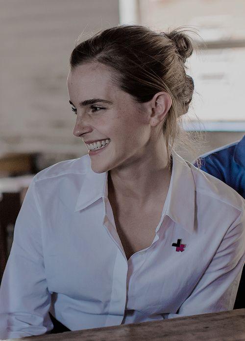 Emma Watson visits Malawi as UN Women Ambassador (October 10)
