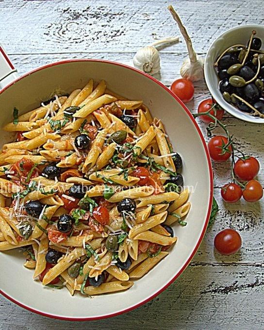 #PASTA ALLA PUTTANESCA #food #cibo #italianfood #foodie #ricetta