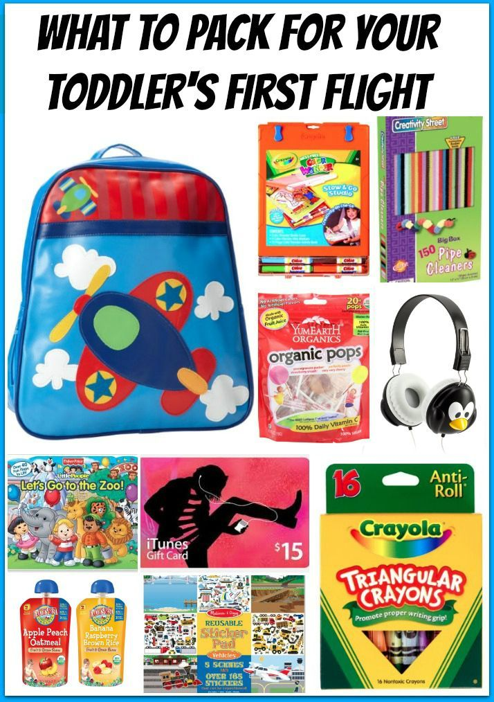Planning to fly with your toddler? Here are some suggestions of things to take with you if you are traveling with a little one!