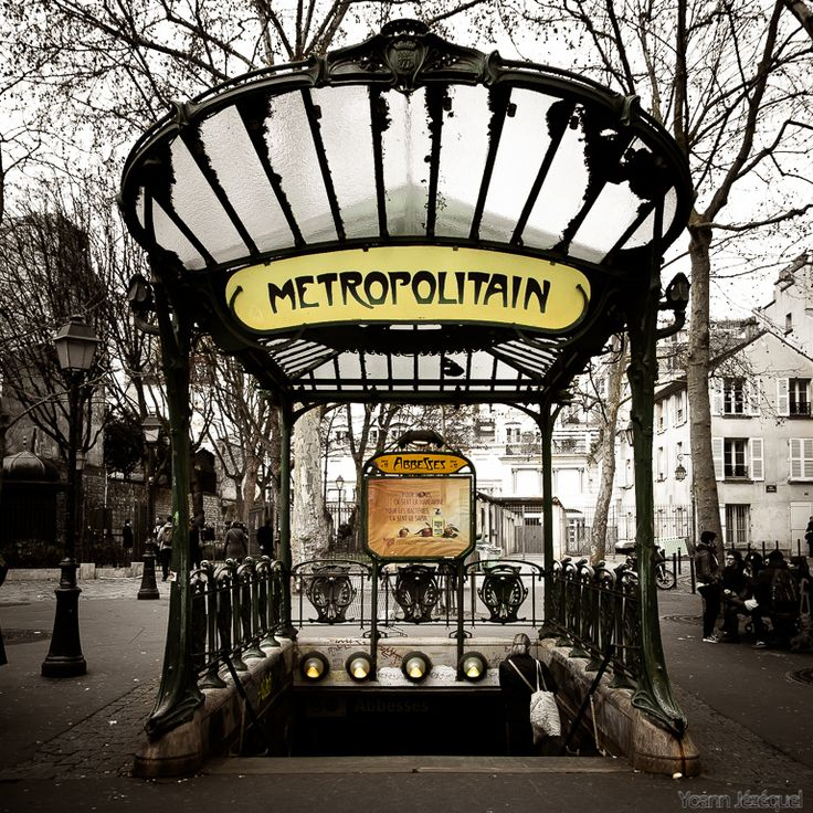 Paris Metro Station Walking is the most scenic way to explore paria. However, for longer journeys metropolitan de paris is the preferred mode of transportation. Being one of the oldest subways in the world, opening in 1900. You won't find a quicker way to get around paris.