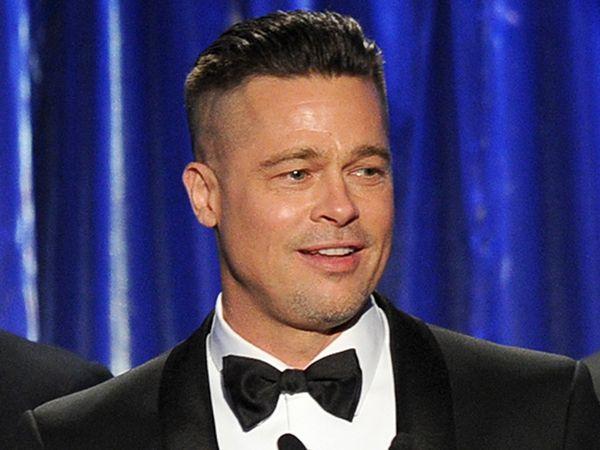Tudo pelo trabalho… Brad Pitt diz que seu corte de cabelo não é sua escolha >> http://glo.bo/1mupaC5
