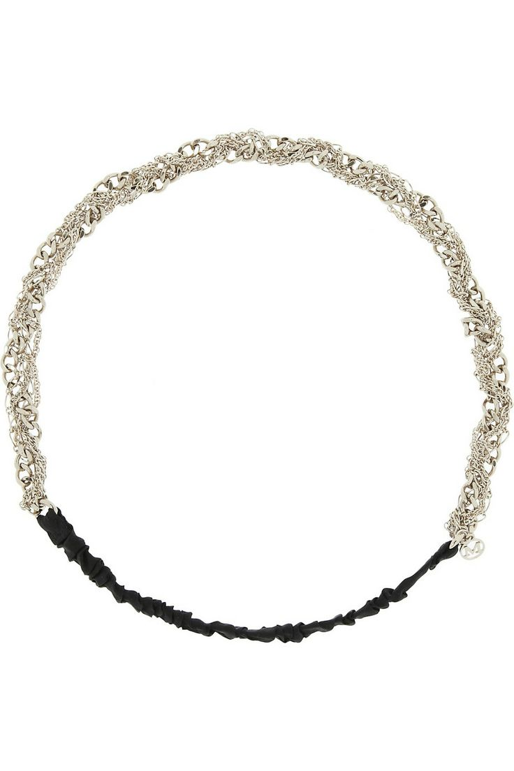 Maison Michel | Doris twisted chain headband | NET-A-PORTER.COM