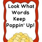 Perfect for a Hollywood Theme classroom! Popcorn Word Wall template and student book. All Hollywood Stuff is 20% off!!