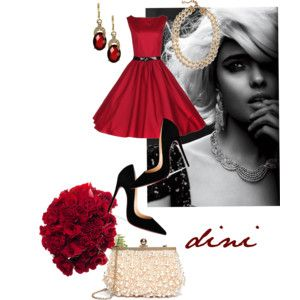 """""""classic red"""" by dini-ph on Polyvore"""