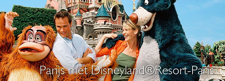 Frankrijk - 3 Dagen - Busreis Disneyland-Parijs  Busreis naar Parijs met Disneyland®Resort-Paris Met o.a. 1 dag entree voor Disneyland Park   De mooiste en spectaculairste Disney® Parken van Europa! Ontdek het universum in de Star Tours attractie of Space Mountain: Mission II, maak een wilde tocht door Big Thunder Mountain of verover de Caribbean samen met piraten! Of stapt u dit keer in de wereld van film, televisie en animatie: Walt Disney Studios® Park.