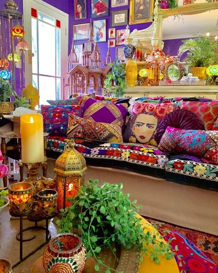 Boho Style Ideas for Interior Designs and Decor