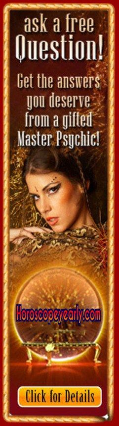 Get the answers you deserve from a master psychic - Our clairvoyant psychics reveal your destiny through the power of fortune telling, offering accurate future readings and psychic predictions. Start your free reading and chat live online or by phone with a fortune teller to divine your future full of promise and hope! Seek Details Here: http://www.horoscopeyearly.com/psychic-and-tarot-readings/
