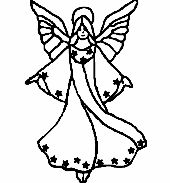 Üvegmatrica minta : /Angyal, Karácsony, Vallás