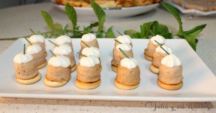 Receta de Bombones de atún con mayonesa | Eureka Recetas