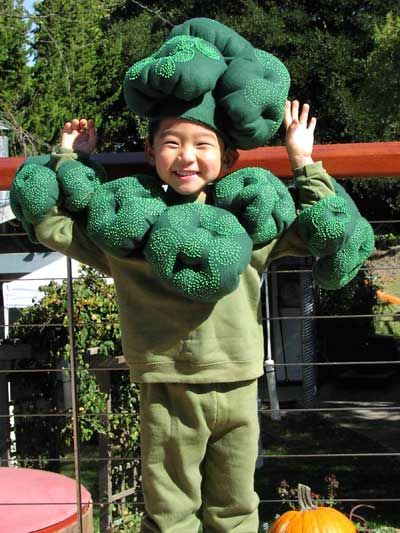 Halloween is just over a month away! We can't decide which broccoli costumes we love best.