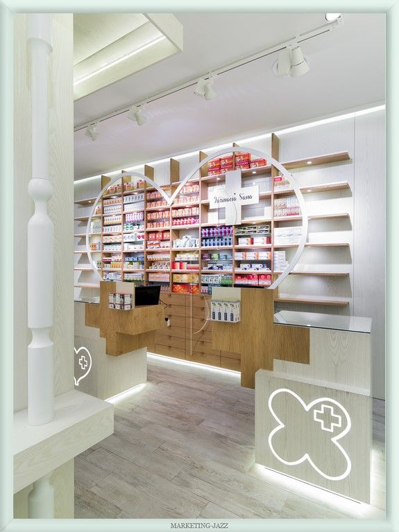 Diseño interior 5 Farmacia S´ana, Madrid
