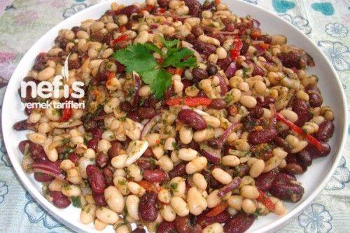 3 Lezzet Fasulye Salatası Tarifi