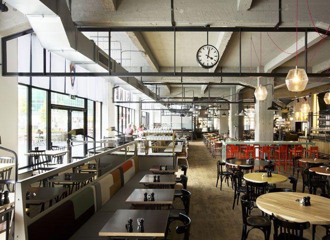 Grand café Usine, Eindhoven, The Netherlands.