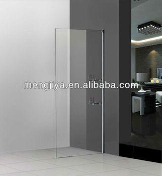 Emily cheap shower door glass shower screen price no glass aluminum door small