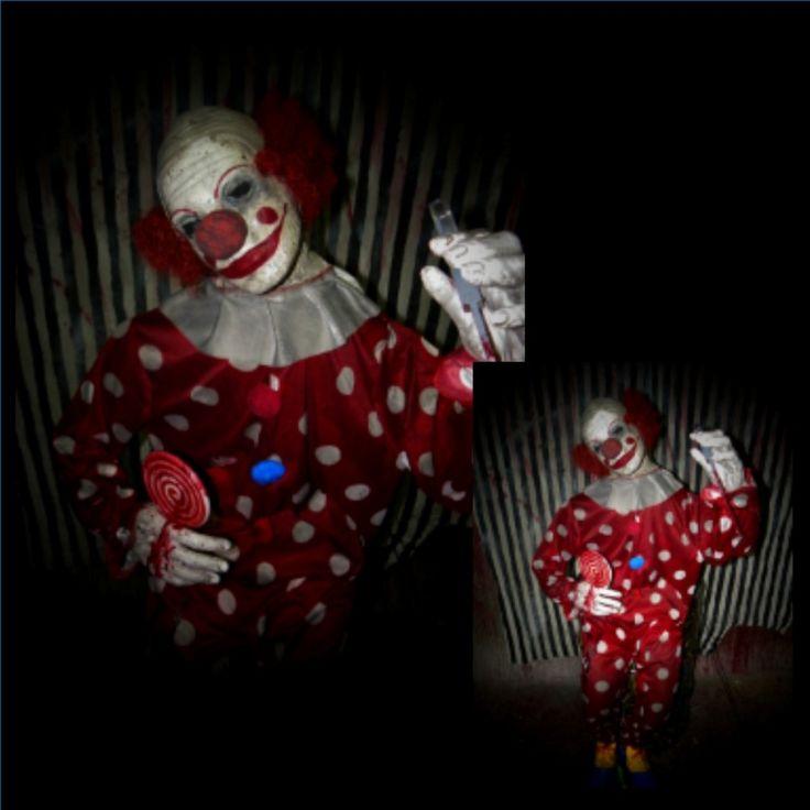 Creepy Clown, Haunted House