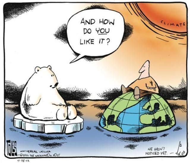 Climatechange Cartoons Climate Comics Planetearth Political