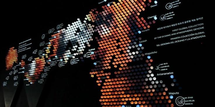 Dymaxion. Spanish Pavillion. Expo Yeosu 2012 #elsaltres