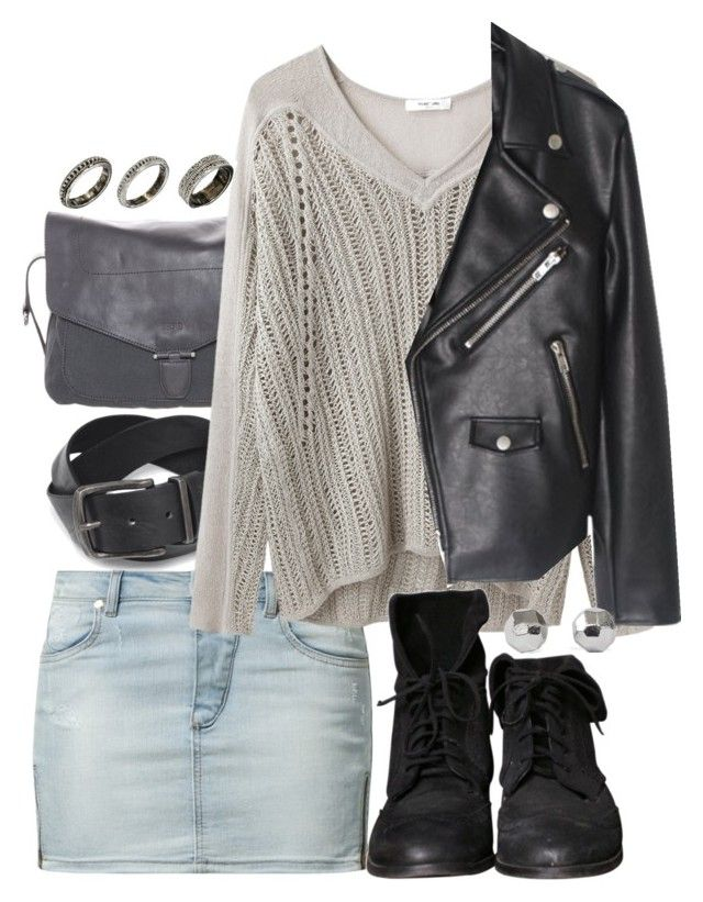 """Isaac Inspired College Outfit"" by veterization ❤ liked on Polyvore featuring BOSS Orange, BREE, ByDanie, Helmut Lang, Zara and ASOS"