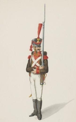 Fuciliere della fanteria di linea spagnola