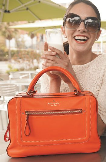 Kate Spade - the color is ok, but the design/construction is why I posted it