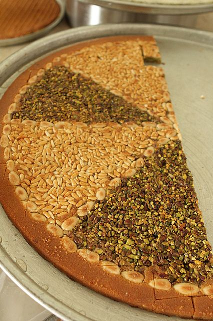 Nut pastry by David Lebovitz, via Flickr - nice blog post about Lebanese pastries - yum!!!