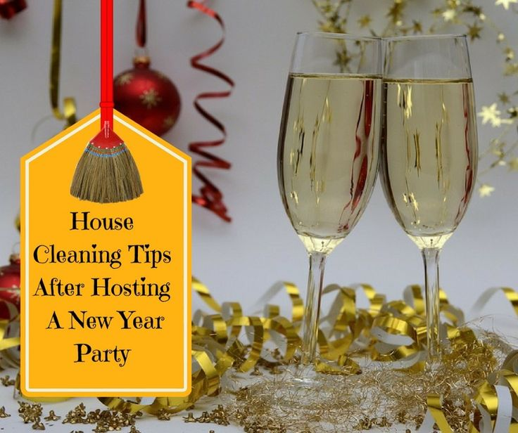House #Cleaning Tips After Hosting A New Year #Party