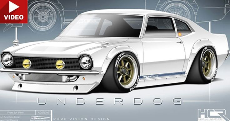 F&F Star Sung Kang Starts Ambitious Project With Classic Ford Maverick…