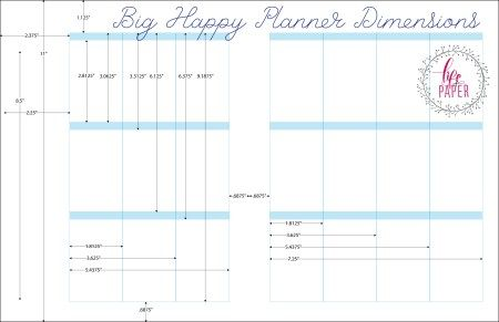 Big happy planner dimensions happy planner arc planner for For planner