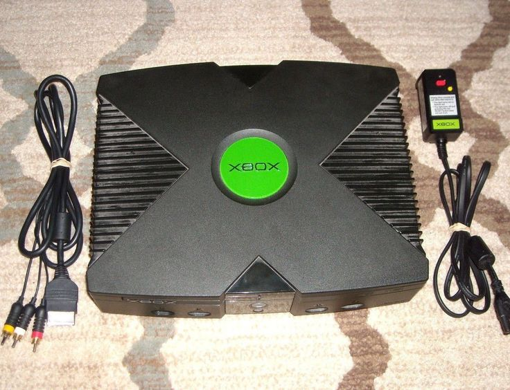 #videogames #Gamers #xbox Microsoft Xbox Console System Original W/ Both Cords Fully Tested 1 Free Game 64.95      Item specifics   Condition: Used      :                An item that has been used previously. The item may have some signs of...