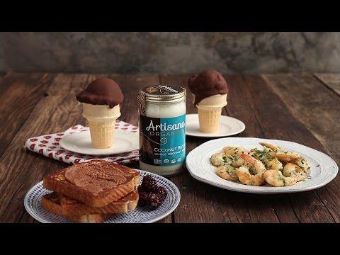 Coconut Butter 3 Ways