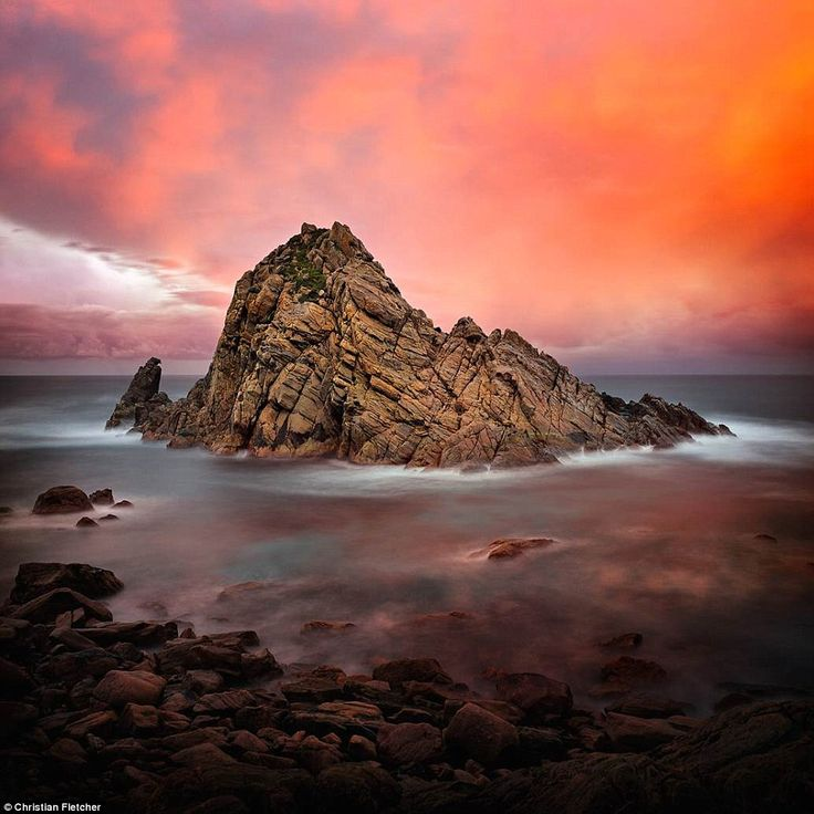Fletcher said, 'Sugarloaf Rock never fails to impress and is like a magent drawing me in w...