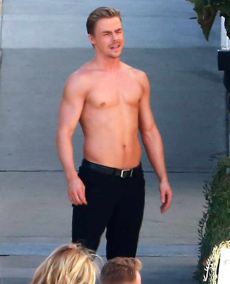 Derek Hough Shirtless + Rumers Willis In Skin Tight Pants On Dancing With The Stars Set - http://oceanup.com/2015/03/30/derek-hough-shirtless-rumers-willis-in-skin-tight-pants-on-dancing-with-the-stars-set/