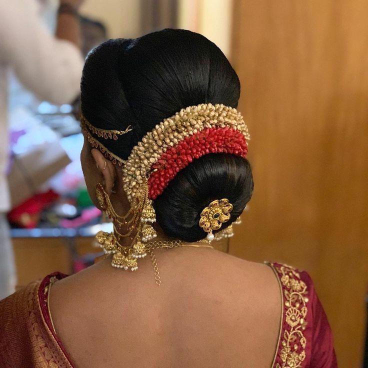 Pin By Preksha Pujara On GAJARA HAIR BUN In 2020