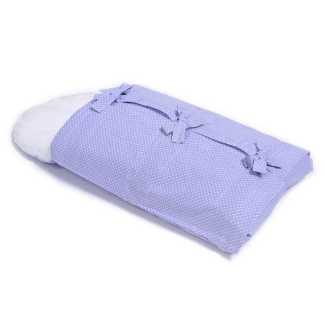 Violet dots swaddling bag – Swaddling
