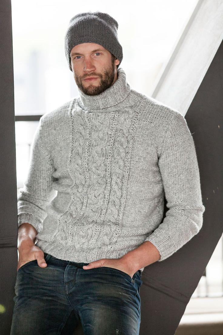 Lana Grossa MÜTZE Cool Wool Big - FILATI Handstrick No. 57 (Herbst/Winter 2014/15) - Modell 35 | FILATI.cc WebShop