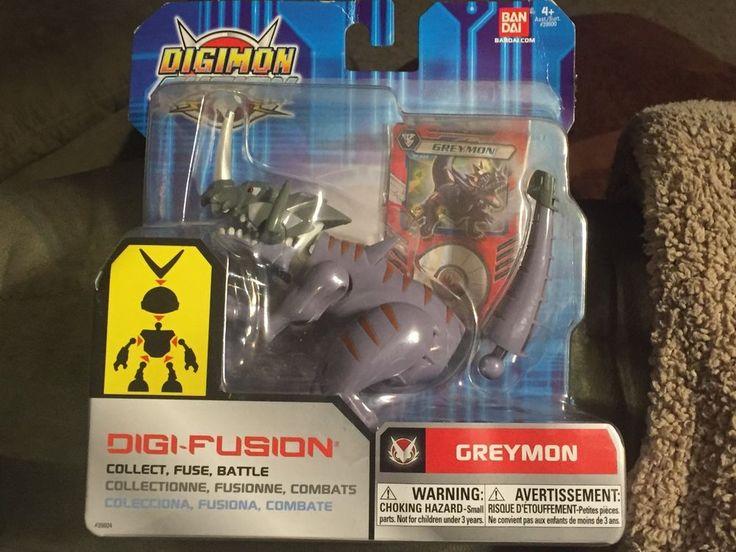Digimon Fusion  Bandai Greymon  Digi Fusion Digital Monster #Bandai
