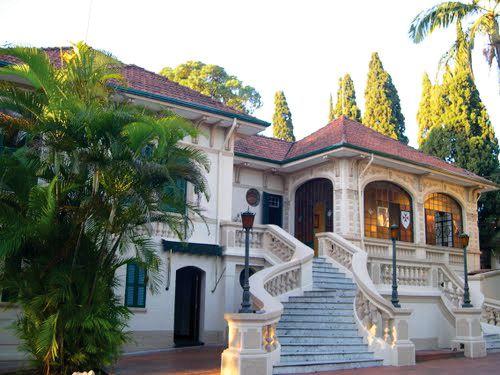 Old Mansion in Itaquera / Sao Paulo