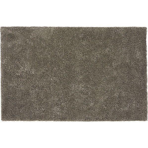 roper grey shag rug  | CB2 - 5'x8' - $299 (less 15% is $254.15)