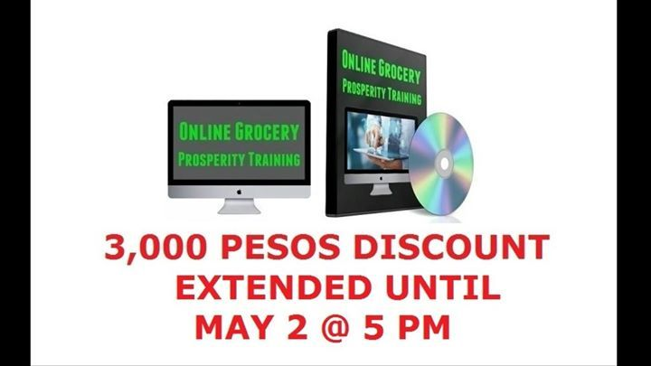 3,000 DISCOUNT EXTENDED UNTIL MAY 2 AT 5 PM!!!  Because it's Sunday yesterday and today is a Holiday, I received a lot of emails requesting to extend the discount so we decided to extend it.  The first time I launched this premier training OGPT, it only cost 1,199 pesos as an enrollment fee.   But along the way, our expenses shoots up which force us to raise the enrollment fee more than 15 times.   Those who have enrolled earlier enjoy the benefit of paying the lowest rate.   There's a price…