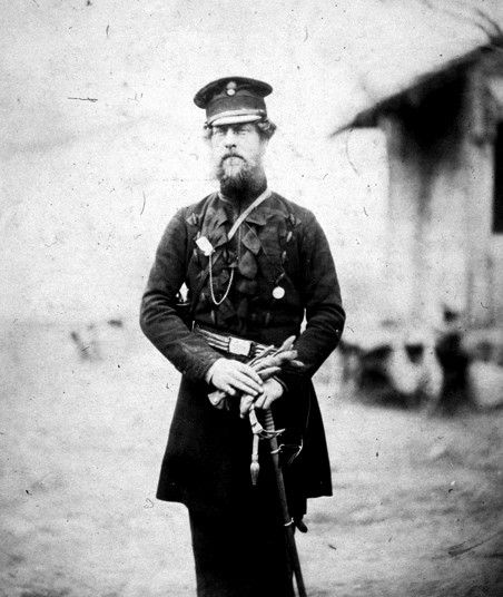 Edward Birch Reynardson, a British army officer of the Grenadier Guards, stationed at Balaklava during the Crimean War