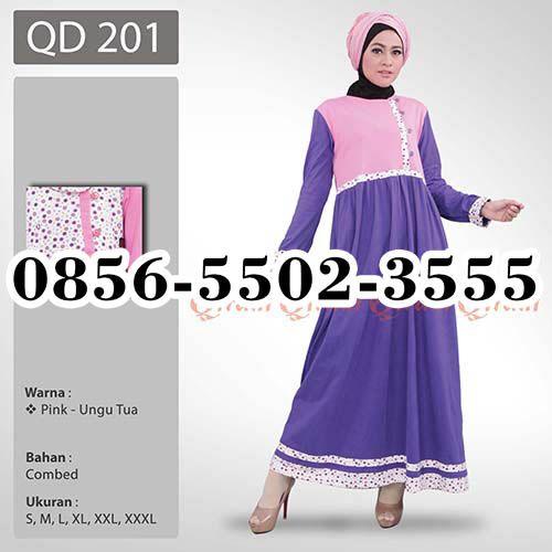 Gamis Putih Qirani, HP.0856-5502-3555,