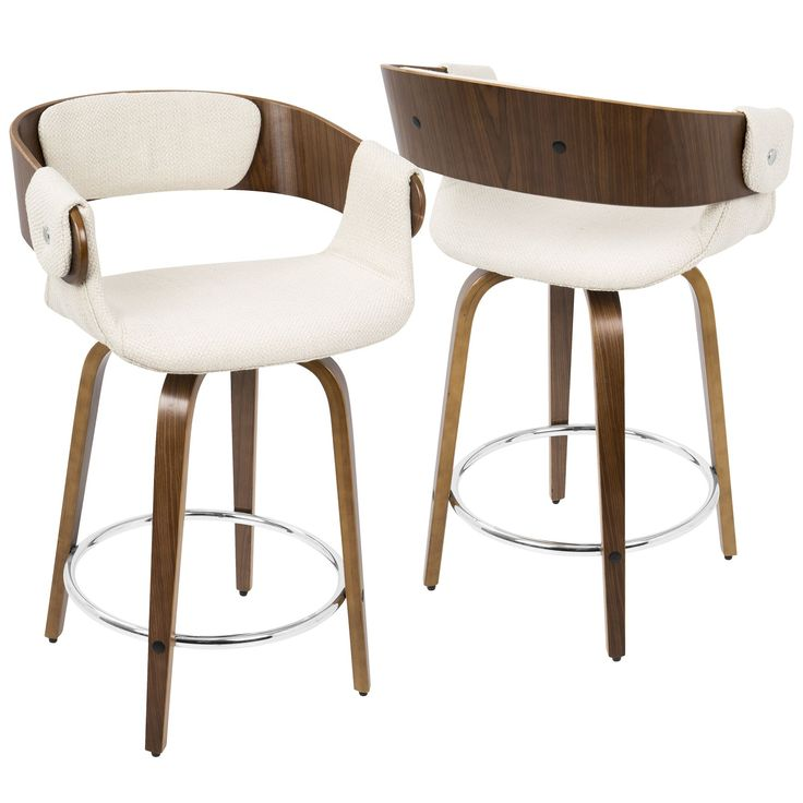 Seat Everyone For Breakfast With These Comfortable Mid Century Modern Counter  Stools. Crafted With