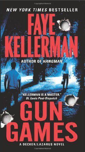 Gun Games: A Decker/Lazarus Novel by Faye Kellerman, http://www.amazon.com/dp/006206696X/ref=cm_sw_r_pi_dp_4RfKqb062P3WY