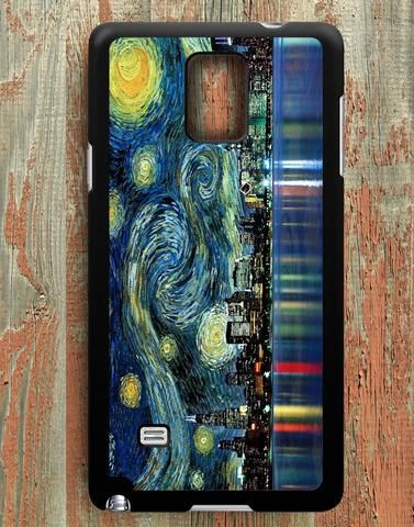 Starry Night City Samsung Galaxy Note 4 Case