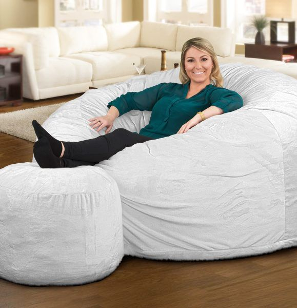 The Ultimate Sack 6000 Bean Bag Chair Is A Great Place To Stretch Out After