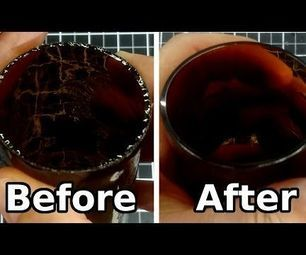 Polishing Bottle After Cutting