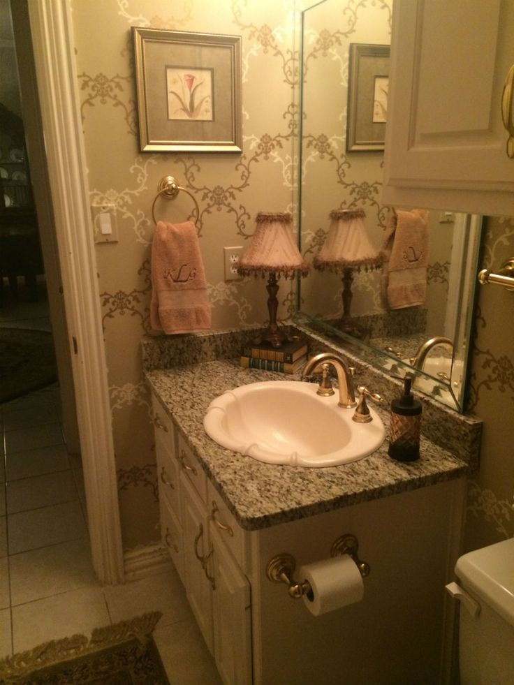 207 best Pretty Bathrooms images on Pinterest | Bathroom, Bathrooms and Half bathrooms