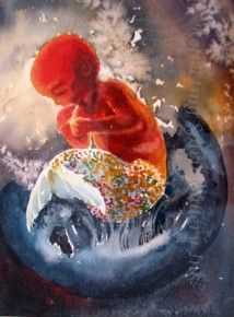 Mermaid in the Womb by Yvonne Maximchuk